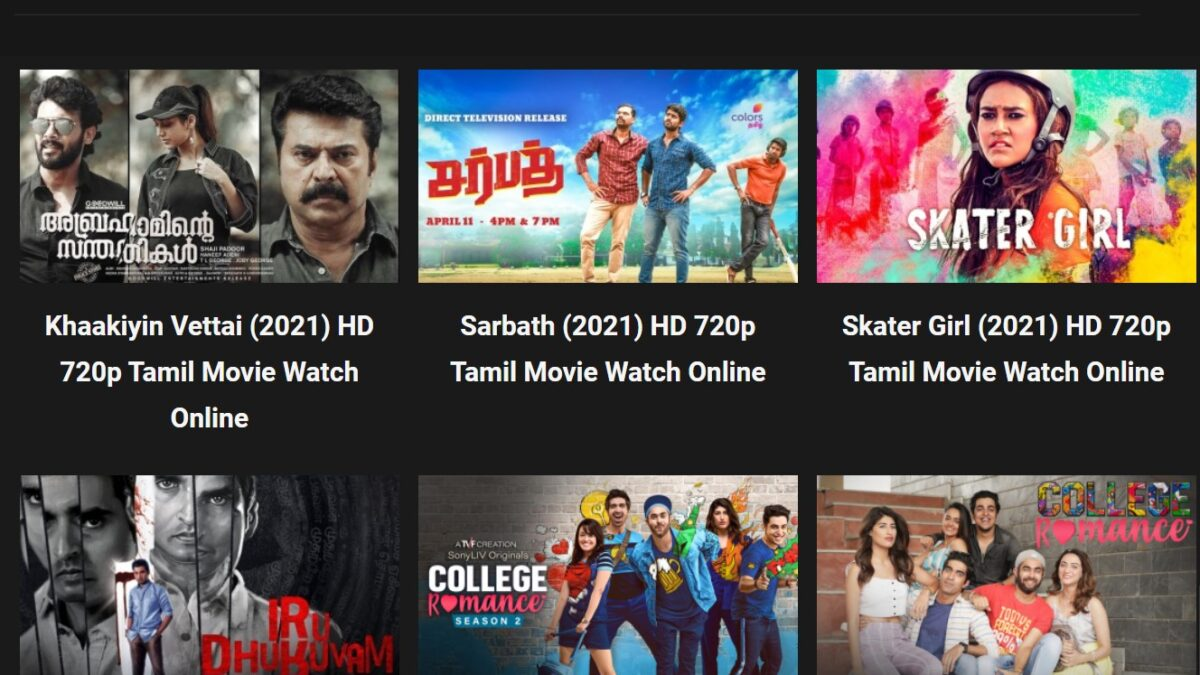 Tamilyogi (2021) Best Alternatives For Tamil Yogi