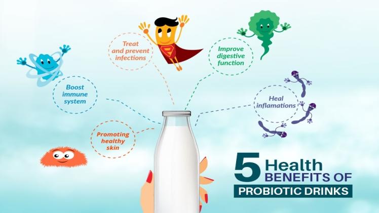 5 Health Benefits Of Taking Probiotics