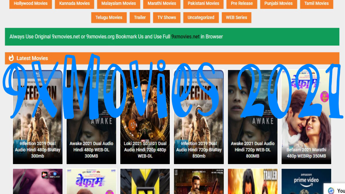 TOP 10 FREE ALTERNATIVES OF 9XMOVIES IN 2021