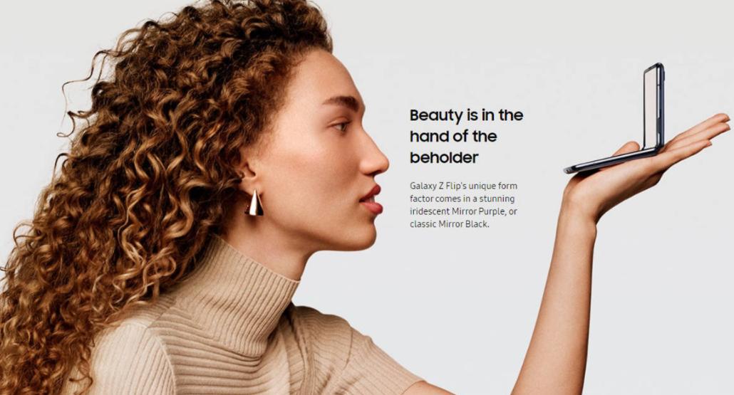 Price of Samsung Z Flip in Singapore