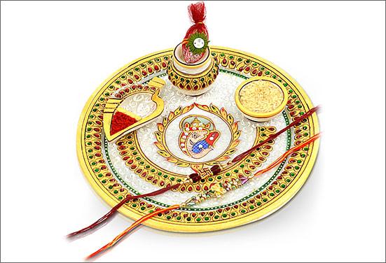Best Way To Decorate Raksha Bandhan Thali