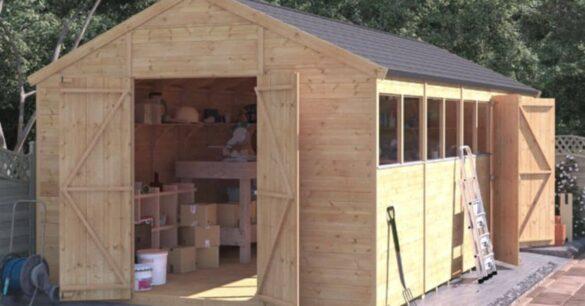 cheap sheds