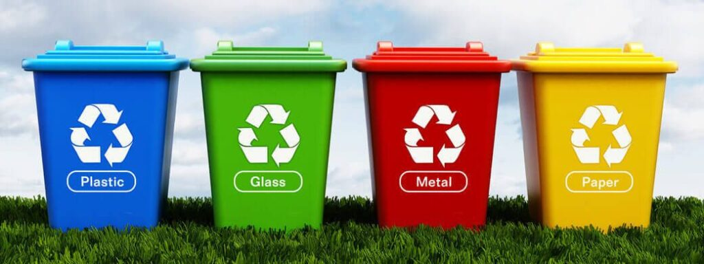 Five Types of Bins to Throw Your Garbage In