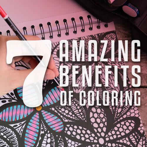 Mental Health Benefits of Coloring-in Books For Adults
